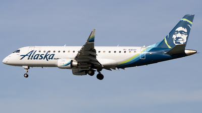 A picture of N181SY - Embraer E175LR - Alaska Airlines - © Angelos Panou
