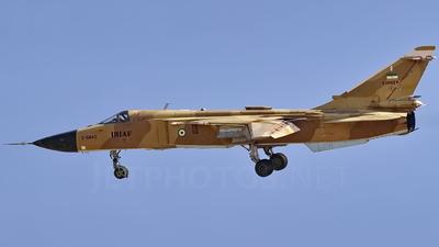 3-6843 - Sukhoi Su-24MK Fencer - Iran - Air Force