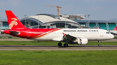 A picture of B6566 - Airbus A320214 - Shenzhen Airlines - © Lywings