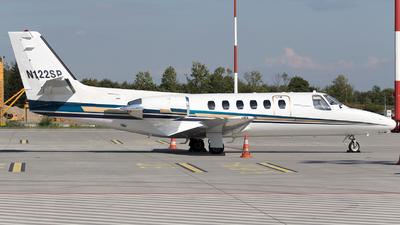 A picture of N122SP - Cessna 551 Citation IISP - [5510393] - © Łukasz Stawiarz