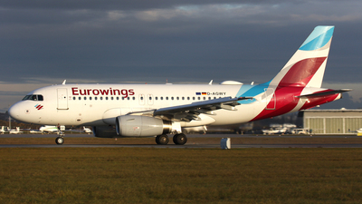 A picture of DAGWY - Airbus A319132 - Eurowings - © Frank Specker