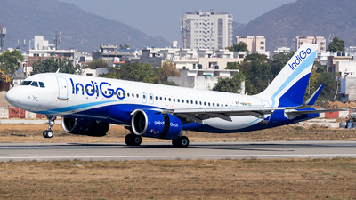A picture of VTIVH - Airbus A320271N - IndiGo - © Rohan Paliwal
