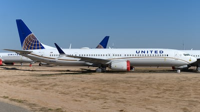N37508 - Boeing 737-9 MAX - United Airlines