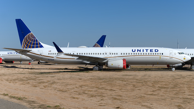 A picture of N37508 - Boeing 737 MAX 9 - United Airlines - © Andrew Hunt