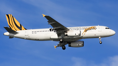 9V-TRH - Airbus A320-232 - Tiger Airways