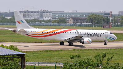 A picture of B3273 - Embraer E190LR - Colorful GuiZhou Airlines - © LaiLai