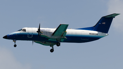 A picture of N566SW - Embraer EMB120ER Brasilia - Ameriflight - © Nito