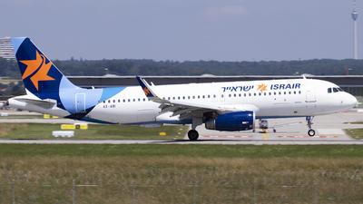 4X-ABI - Airbus A320-232 - Israir
