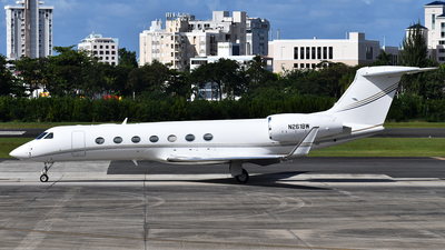 N261BW - Gulfstream G550 - Private
