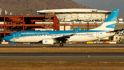 A picture of LVFVN - Boeing 7378SH - Aerolineas Argentinas - © Carlos P. Valle C.
