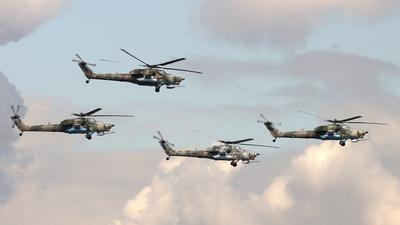 RF-13492 - Mil Mi-28N Havoc - Russia - Air Force