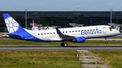 A picture of EW512PO - Embraer E175LR - Belavia - © Chris Jilli