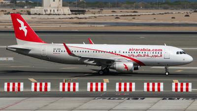 A6-AOU - Airbus A320-214 - Air Arabia
