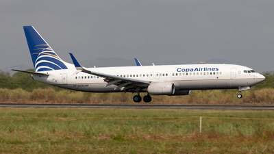 HP-1843CMP - Boeing 737-8V3 - Copa Airlines