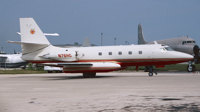 N76HG - Lockheed L-1329 JetStar 8 - Private