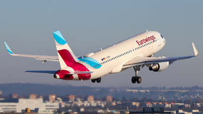 A picture of DAEWR - Airbus A320214 - Eurowings - © Justin Stöckel