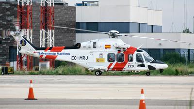 A picture of ECMRJ - Leonardo AW139 - Babcock MCS Espana - © Fabrizio Spicuglia