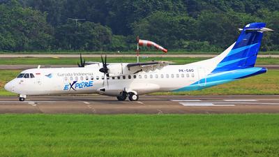 PK-GAO - ATR 72-212A(600) - Garuda Indonesia Explore