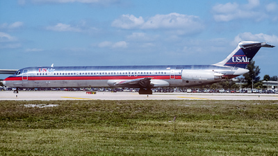 N810US - McDonnell Douglas MD-81 - USAir