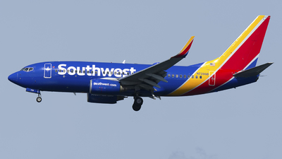 A picture of N739GB - Boeing 7377H4 - Southwest Airlines - © Mark Szemberski