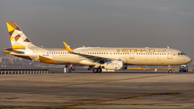 A6-AED - Airbus A321-231 - Etihad Airways