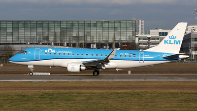PH-EXL - Embraer 170-200STD - KLM Cityhopper