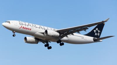 N342AV - Airbus A330-243 - Avianca