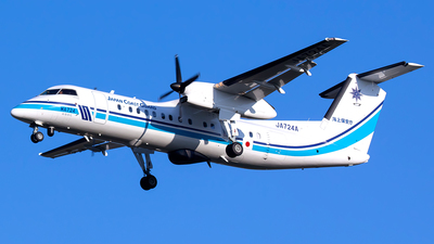 JA724A - Bombardier Dash 8-Q315MPA - Japan - Coast Guard