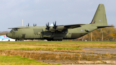 A picture of ZH875 - Lockheed C130J Hercules -  - © Lewis Williams