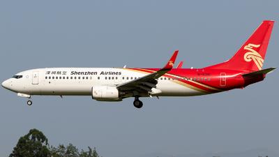 B-5381 - Boeing 737-87L - Shenzhen Airlines