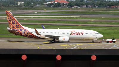 PK-LDL - Boeing 737-8GP - Batik Air