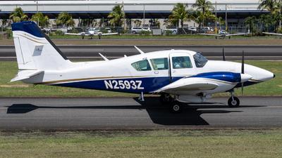 N2593Z - Piper PA-23-250 Aztec F - Private