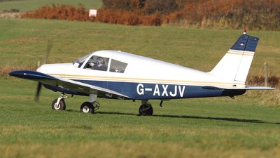 G-AXJV - Piper PA-28-140 Cherokee B - Private
