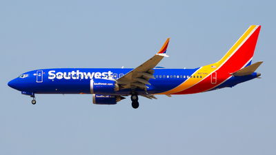 N8734Q - Boeing 737-8 MAX - Southwest Airlines