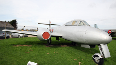 VZ634 - Gloster Meteor T.7 - United Kingdom - Royal Air Force (RAF)