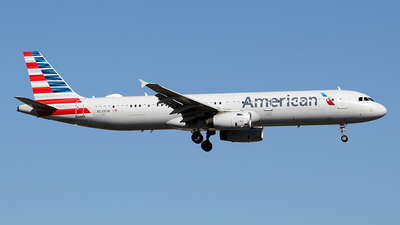 A picture of N539UW - Airbus A321231 - American Airlines - © toyo_69pr