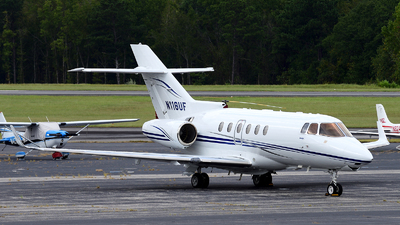 N118UF - Raytheon Hawker 900XP - Private