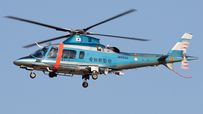 JA6922 - Agusta A109E Power - Japan - Police