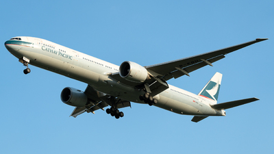 B-KQU - Boeing 777-367ER - Cathay Pacific Airways