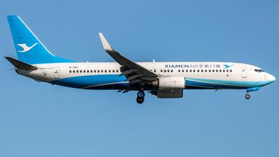 A picture of B5161 - Boeing 73785C - Xiamen Air - © Wenbin Lin