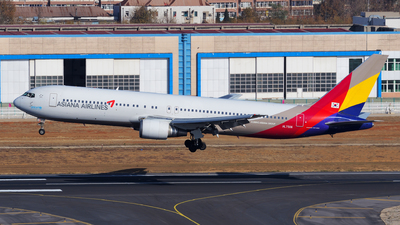 HL7506 - Boeing 767-38E - Asiana Airlines