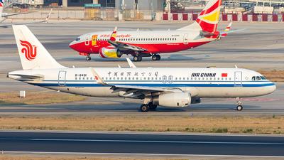 A picture of B8491 - Airbus A320232 - Air China - © Yan Shuai