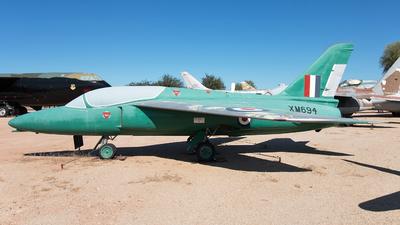 XM694 - Folland Gnat T.1 - United Kingdom - Royal Air Force (RAF)