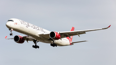 G-VPOP - Airbus A350-1041 - Virgin Atlantic Airways