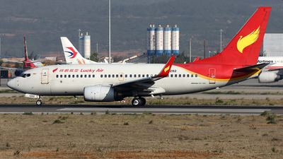 B-5292 - Boeing 737-7V3 - Lucky Air