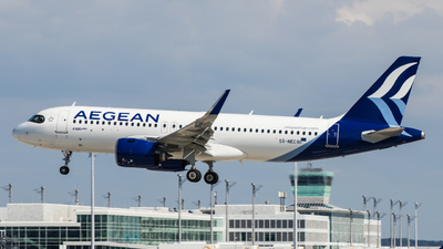 A picture of SXNEC - Airbus A320271N - Aegean Airlines - © TG Aviation Spotter