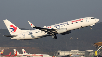 A picture of B1253 - Boeing 73789P - China Eastern Airlines - © YIJING HOU