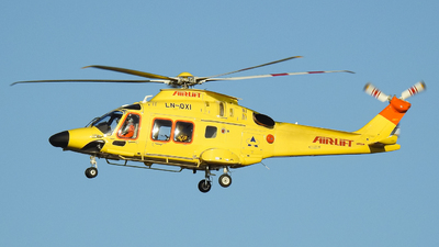 LN-OXI - Agusta-Westland AW-169 - Airlift