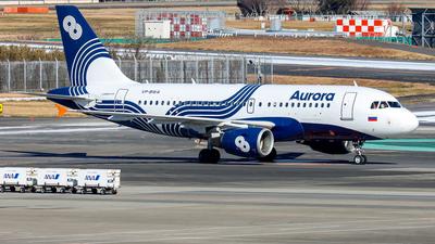 VP-BWA - Airbus A319-111 - Aurora