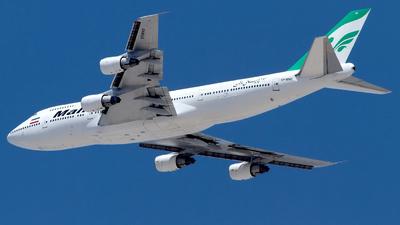 EP-MND - Boeing 747-3B3(M) - Mahan Air